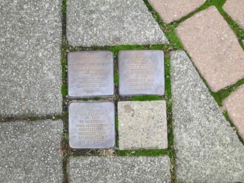 Stolpersteine der Familie Freudenthal