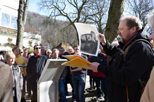 """""""Auf jüdischen Spuren..."""". Bad Harzburg, 2017"""